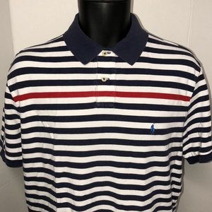 Polo Ralph Lauren Striped Custom Fit Shirt XXL